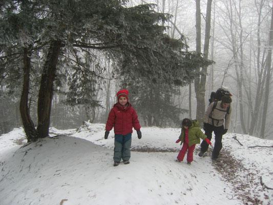 Ambiance givrée et magique en décembre 2009