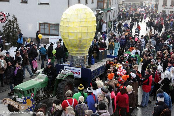 Faschingsumzug Niederndorf / Tirol 2010
