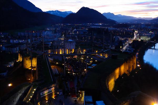 Festung Kufstein im Advent 2019