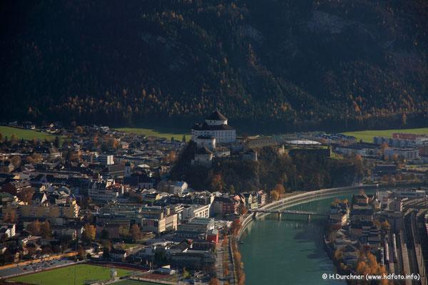 Festung Kufstein vom Thierberg aus gesehen