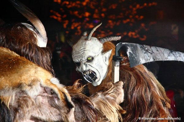 Teufelshow in Kufstein