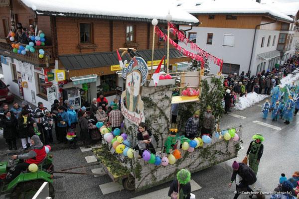Faschingsumzug Niederndorf / Tirol 2013
