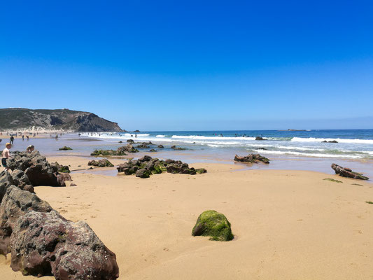 Bordeira's beach