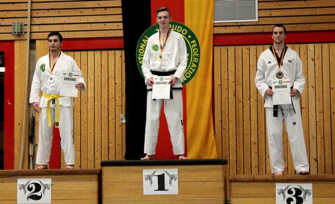 Deutsche Einzelmeisterschaft 2016 in Uchte (Siegerehrung)