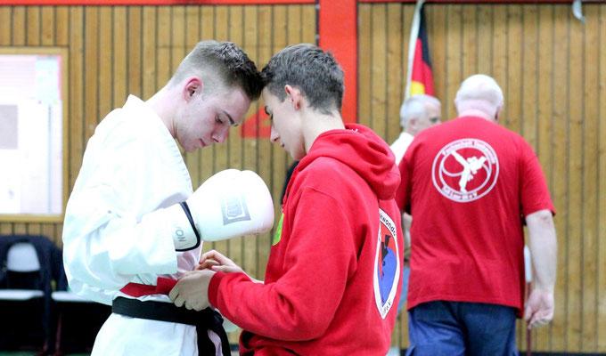 Coaching... Florian und Maik.