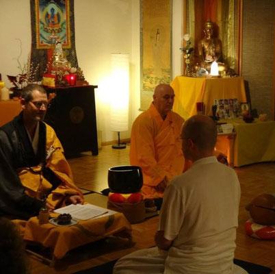 """Ordination zum """"Zen-Mönch"""""""
