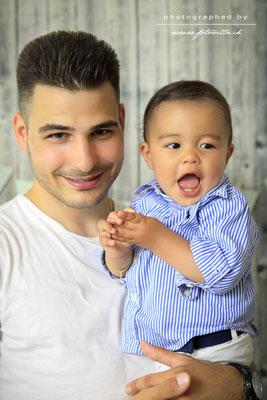 Baby Familien Foto Shooting Bern