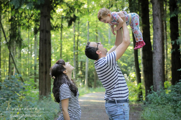 Familie Outdoor Foto Shooting Bern