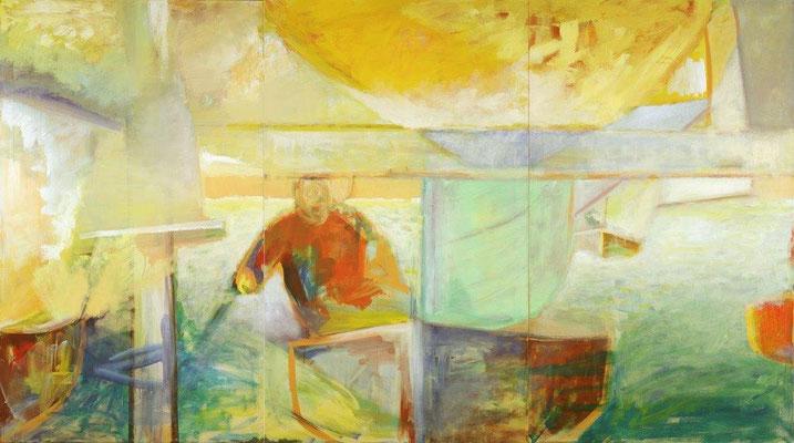 Mitten drin - 162 x 294 cm