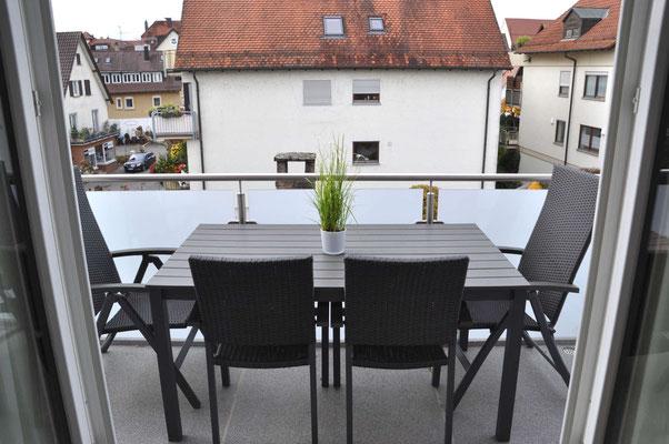 Ferienwohnung Langenargen mit Balkon