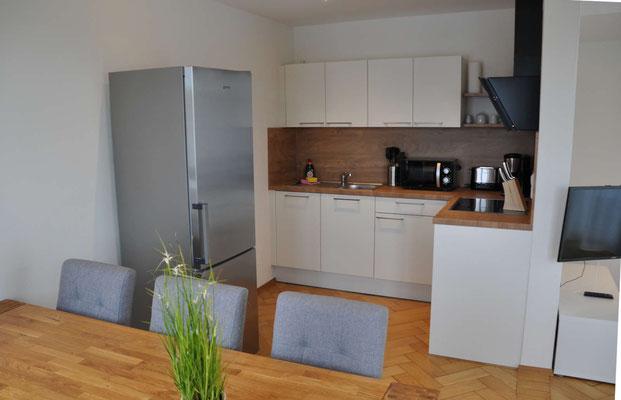 Langenargen Ferienwohnung offene Küche