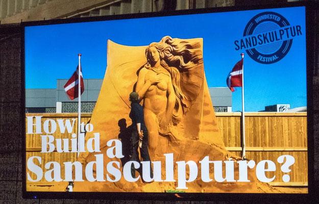 Hundstedt Sandskulpturen Festival