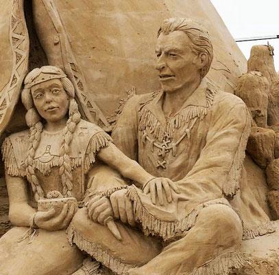 Sandskulpturen Usedom