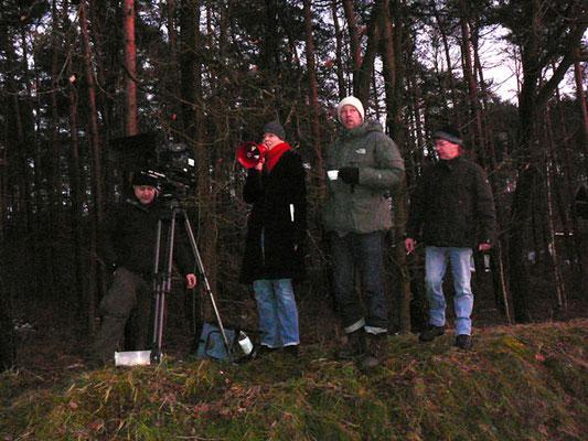 Impression der Dreharbeiten zum Imagefilm Schutzengel-Spot für den ADAC