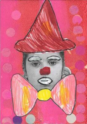 clown par Maria