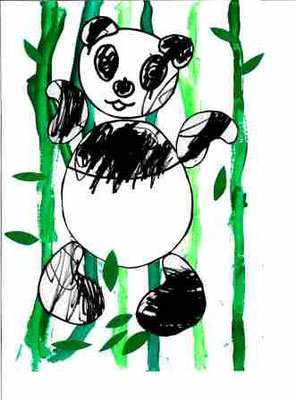 Panda par Myra