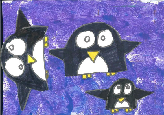 pingouins par Grégoire