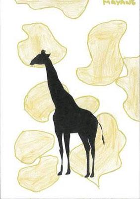 silhouette d'animal par Mayane