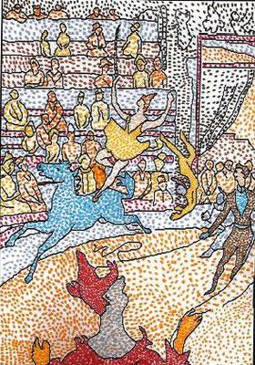 Le pointillisme à la manière de Seurat