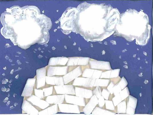 GS : paysage d'hiver par Juliette