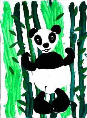 Panda par Léana