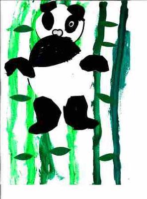 Panda par Elsa