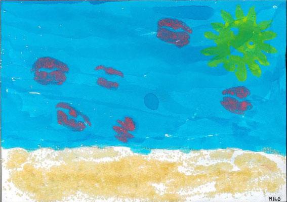 la mer par Milo