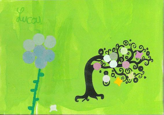 arbre de printemps par Lucas