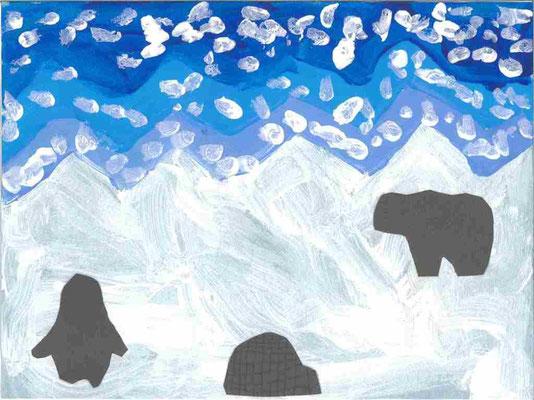 MS : paysage d'hiver par Maximilien