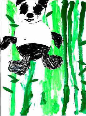 Panda par Lubin