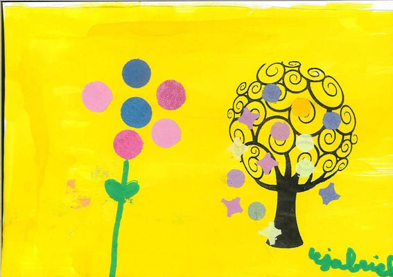 arbre de printemps par Gabriel