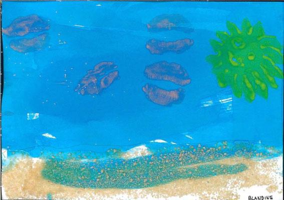 la mer par Blandine