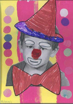 clown par Raphaël