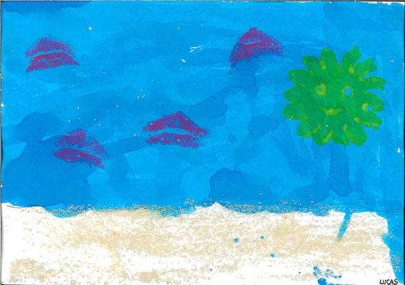 la mer par Lucas