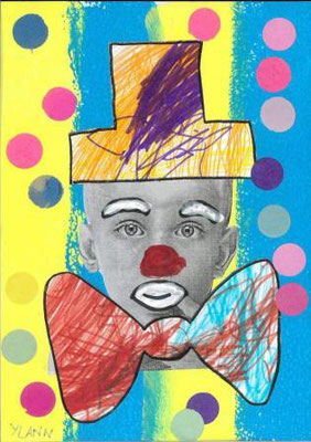 clown par Ylann