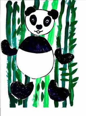Panda par Juliette