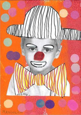 clown par Maximilien