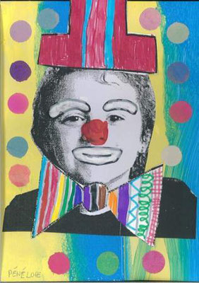 clown par Pénélope