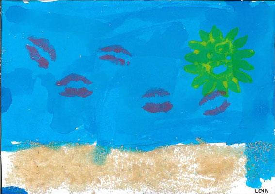 la mer par Lena