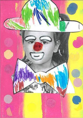 clown par Myra