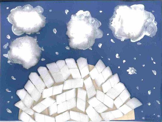 GS : paysage d'hiver par Pénélope