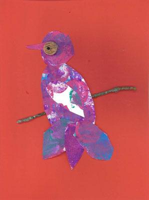oiseau sur la branche par Thibaut
