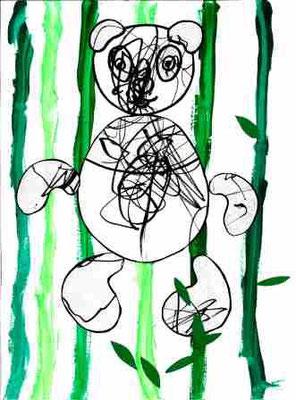 Panda par Ylann