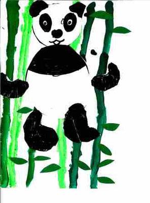 Panda par Pénélope