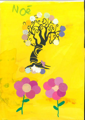 arbre de printemps par Noé