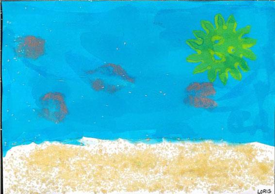 la mer par Loris