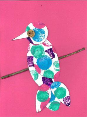 oiseau sur la branche par Ismaël