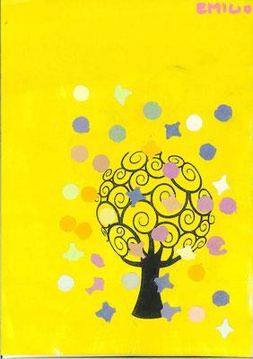 arbre de printemps par Emilio