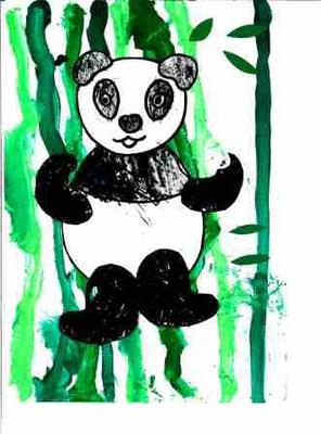Panda par Raphaël