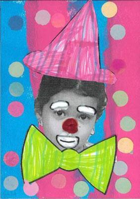 clown par Elsa